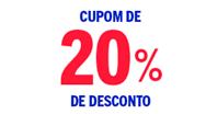 20% OFF nas Casas Bahia