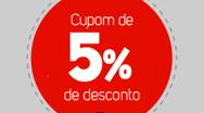 5% OFF no Ponto Frio